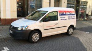 Automobil von City Umzüge